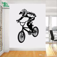 A022 Bmx Bike Bicycle Boys Vinyl Wall Sticker Decal