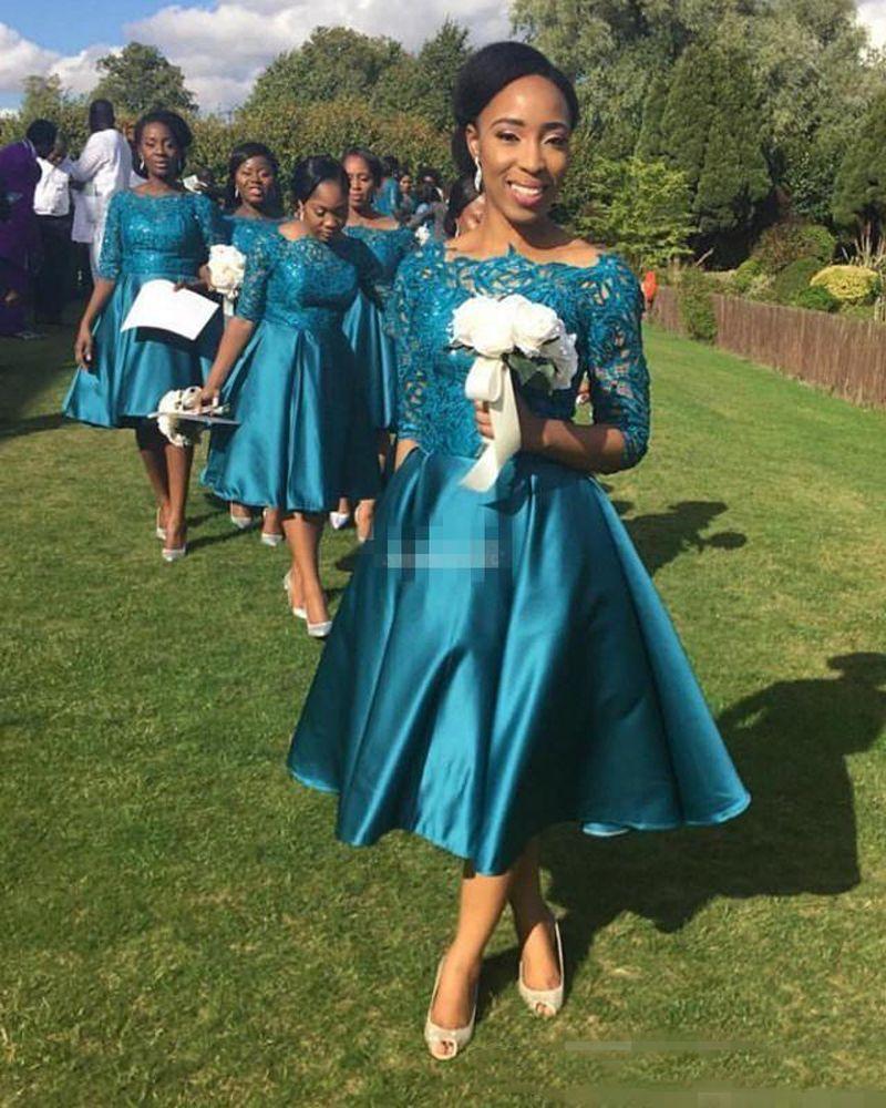Large Of Tea Length Bridesmaid Dresses