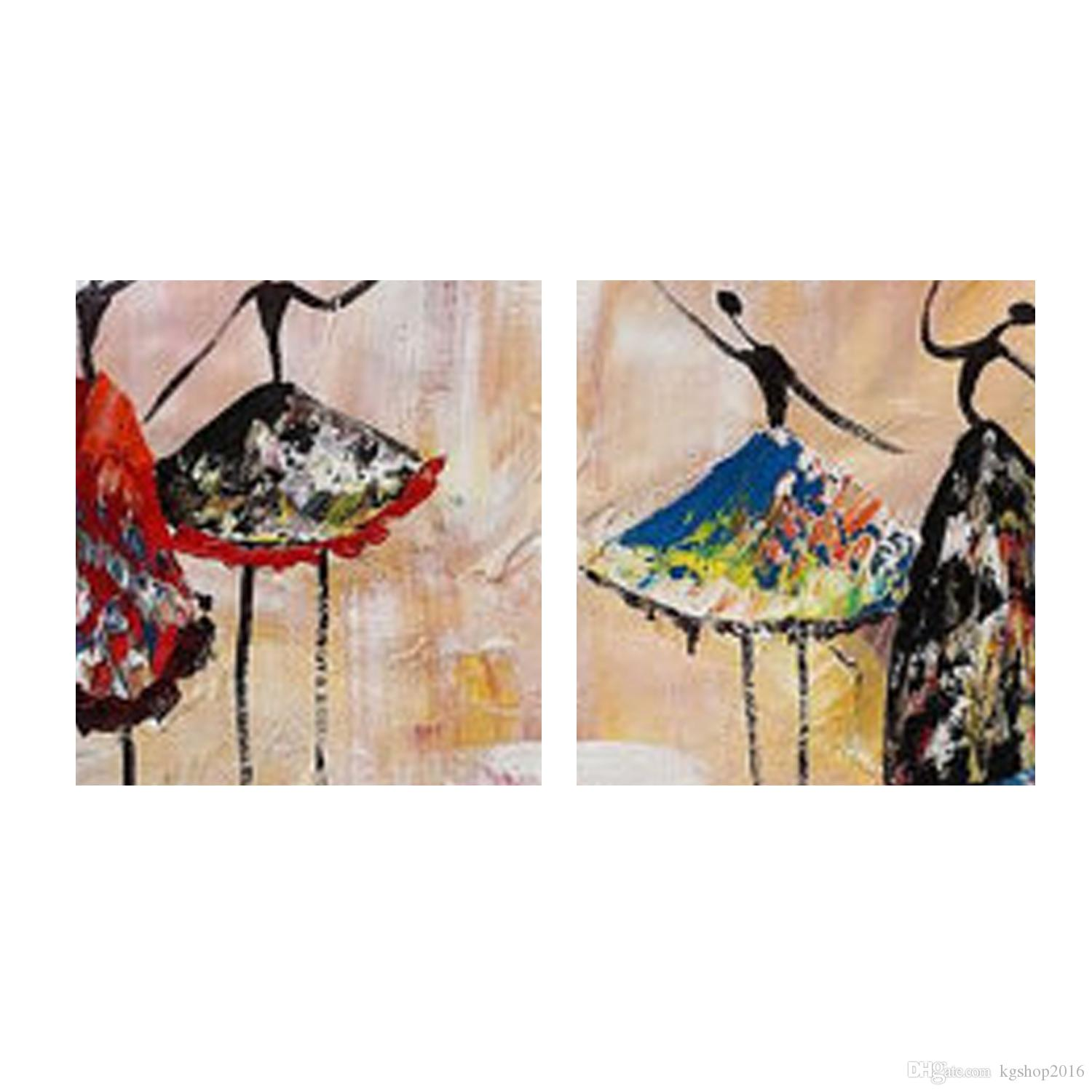 Abstract Painting Of Girl Dancing 2018 Abstract People Oil Paintings Dancing Girl Canvas Art