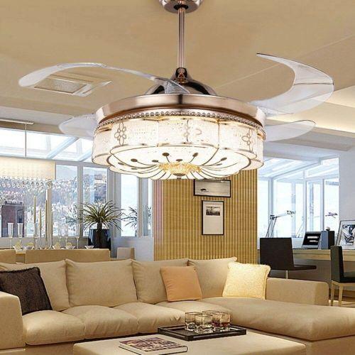 Medium Crop Of Chandelier Ceiling Fan