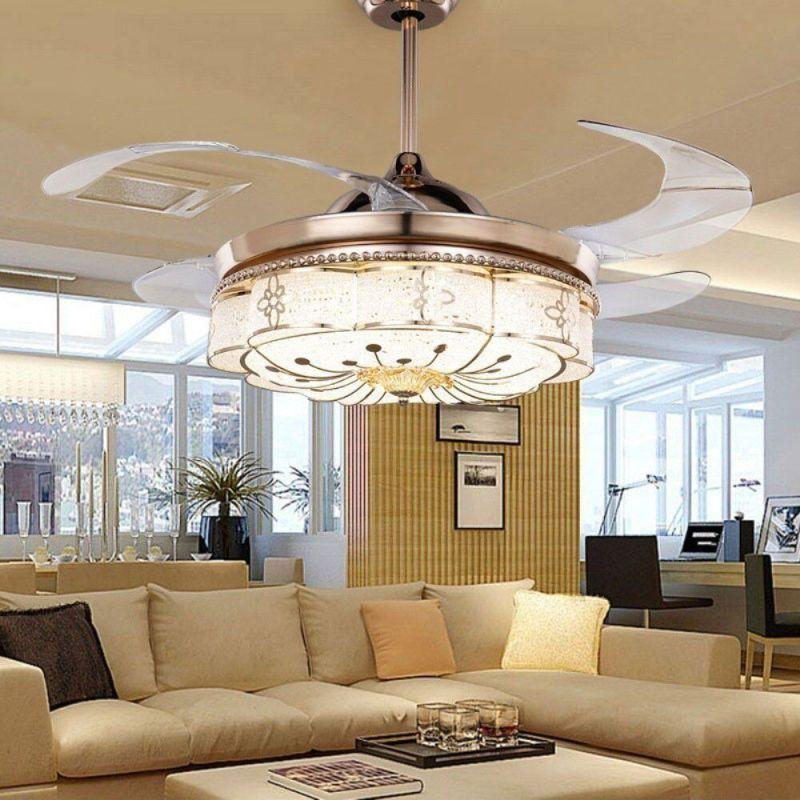 Large Of Chandelier Ceiling Fan