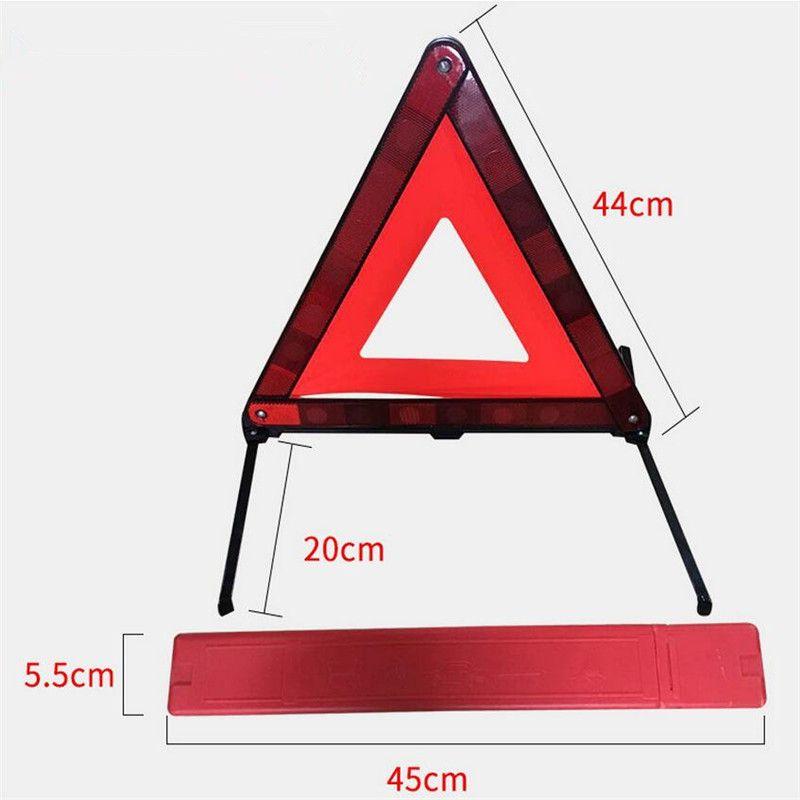 2019 Car Road Emergency Warning Triangle Foldable Reflective Safety