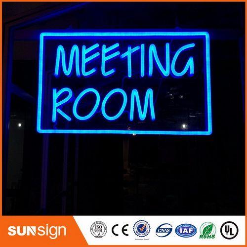 2018 Sunsignad Illuminated Lettering Neon Sign Letters Meeting Room