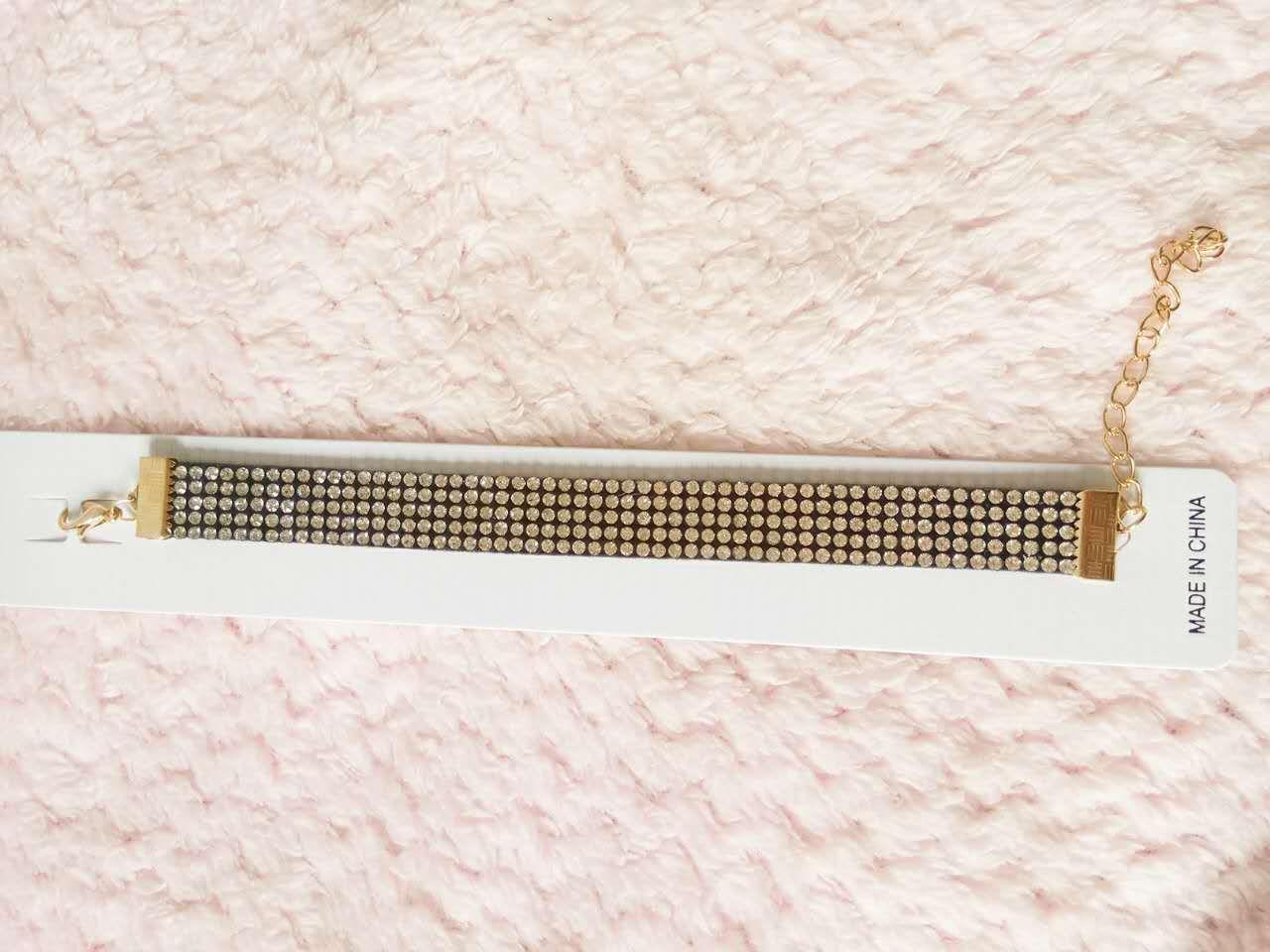 2017 Clear Spring Gold Plated Crystal Rhinestone Bracelets
