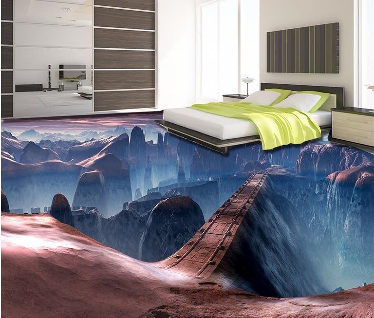 3d Wallpaper For Living Room Wall 3d Floor Murals Custom Wallpaper For Walls 3 D Game Scene