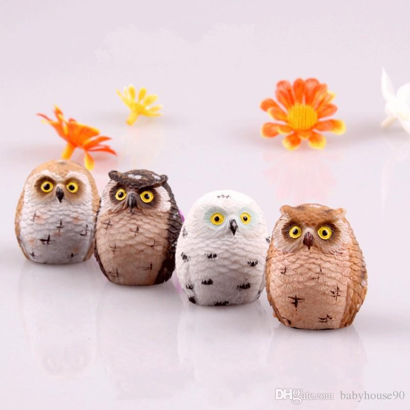 2018 Micro Landscape Owl Different Shapes A Variety Of Colors Mini