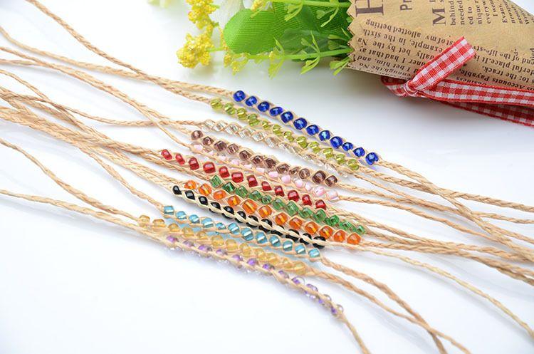 Wholesale Charm Bracelets Crystal Bead Love Rafi Grass