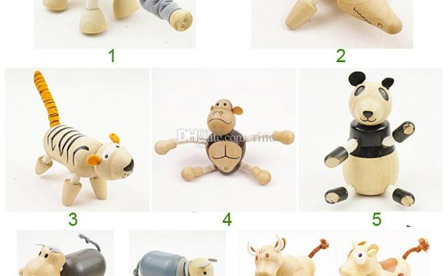 Baby Moveable Maple Wooden Animals Toys Australia Wood