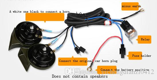Compre Universal Relay Wiring Harness Kit For Truck Auto