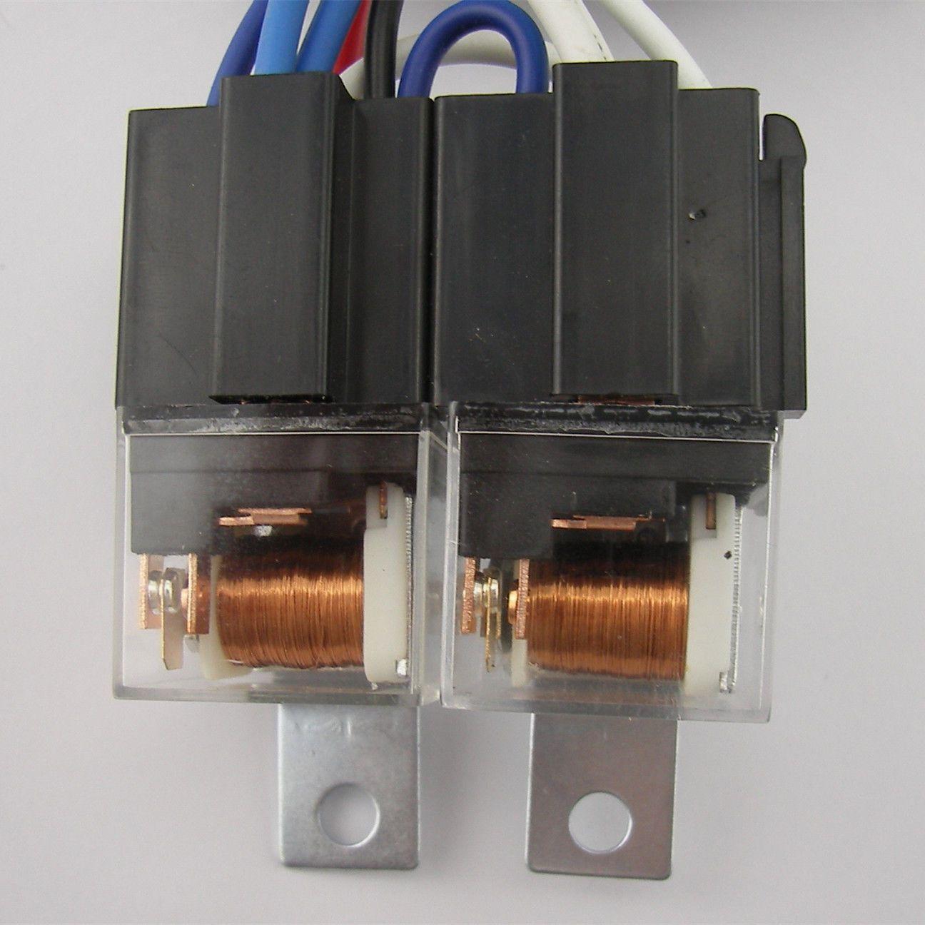 oem h4 headlight relay wiring harness system 4 headl light bulb