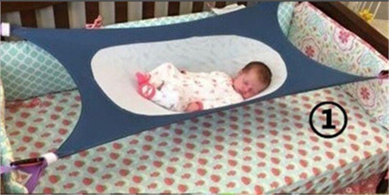 Newborn Baby Cribs Hammock Hanging Bed Kids Portable