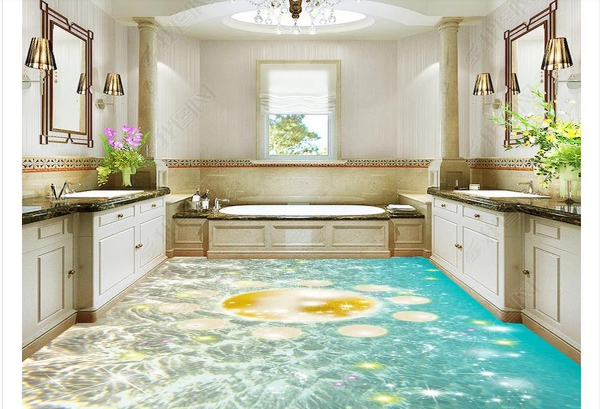 3d Fußboden Meer ~ Badezimmer boden meer pvc boden badezimmer stock vinylboden