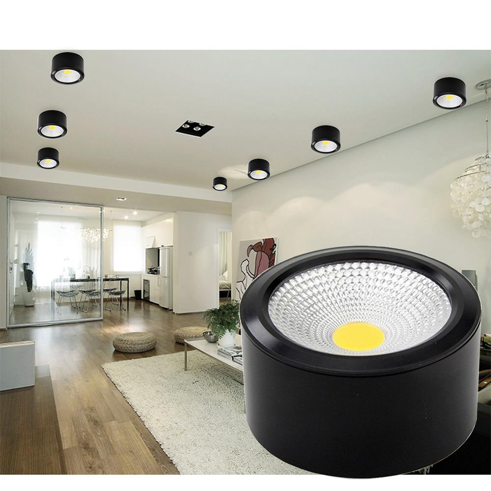 Lampe Bad Dbf Oberflächenmontierte Led Downlights 3w 5w 7w 12w Led Deckenleuchte Küche Bad Dimmbare Led Cob Downlights Lampe