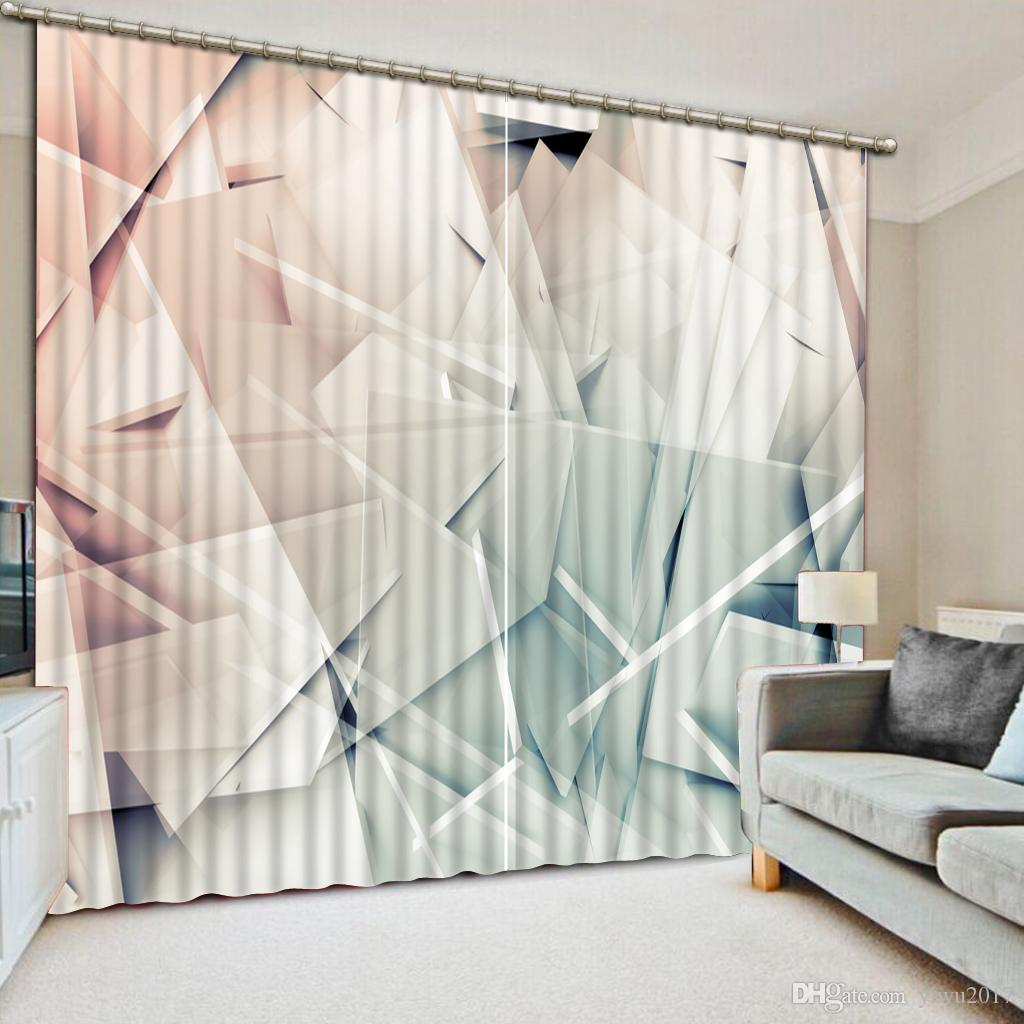 Modern Curtains For Bedroom Top Modern Curtains Irregular Geometric Photo Window Curtain For Living Room Bedroom Or Hotel Office Drapes Curtains