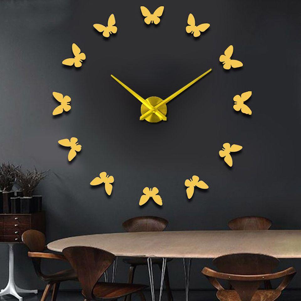 Fullsize Of Unique Digital Wall Clock