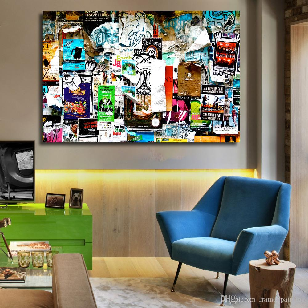 Art Et Decoration Magazine Subscription Home Decor Canvas Wall Art Magazine Oil Painting Canvas Print Wall Pictures For Living Room Posters And Prints Pop Art No Framed