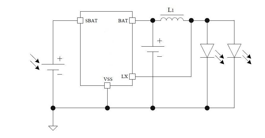 Solar Light Charging Circuit On 5252f Solar Light Circuit Diagram