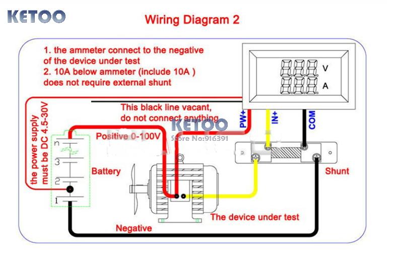 Automotive Amp Meter Wiring Diagram Wiring Diagram