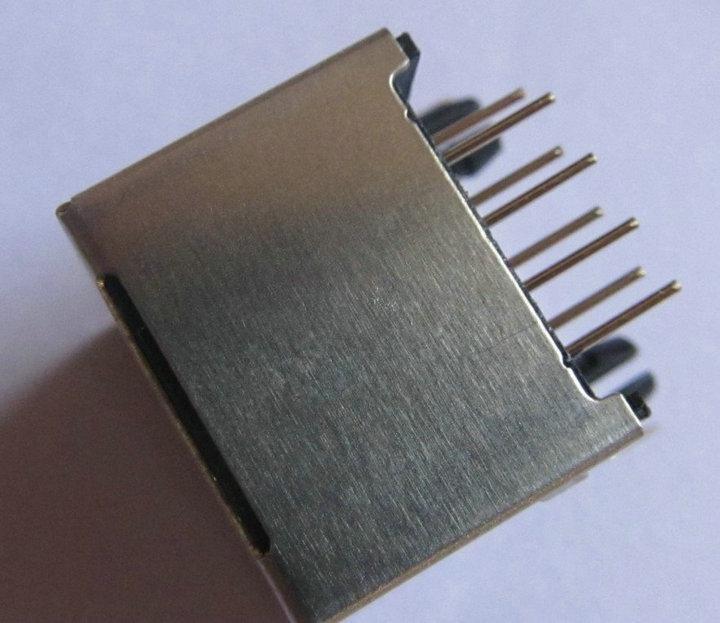 RJ45 Modular Network CAT5 Socket Computer Connector 8 Pin LAN Jack