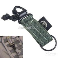 Versatile Tactical Durable Nylon Military Style Belt Key ...