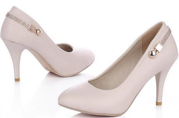 Office Lady Black High Heel Women Shoe 2012b052 Online
