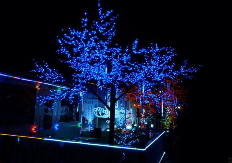 22m 200led Solar Powered String Lights Garden Christmas