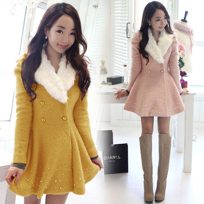 Japanese Woman Winter Fashion