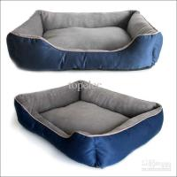 Large Pet Dog Bed Nest Cat Soft Beds Plush Canvas House ...