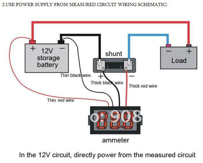 Dc Meter Wiring Diagram Wiring Diagram