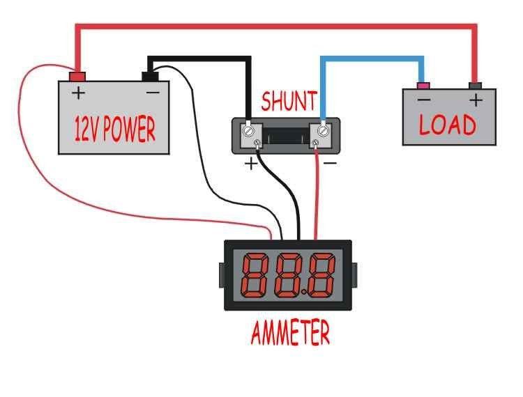 Ac Amp Meter Wiring Diagram - Somurich