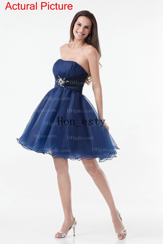 Fullsize Of Navy Blue Cocktail Dress