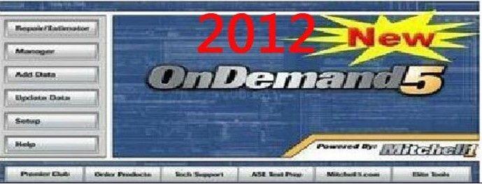 2012 Mitchell Ondemand5+2008 Mitchell Heavy Trucks+2008 Mitchell