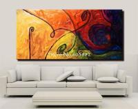 Discount 100% Handmade Large Canvas Wall Art Abstract ...