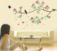 Wholesale Removable Birds And Tree Branch Wall Art ...