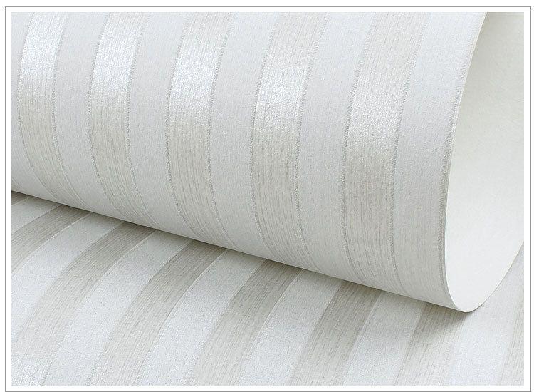 3d Brick Pattern Wallpaper Silver Grey Vertical Stripes Non Woven Fabric Wallpaper