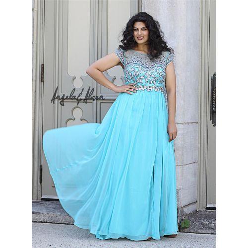 Medium Crop Of Cheap Plus Size Prom Dresses