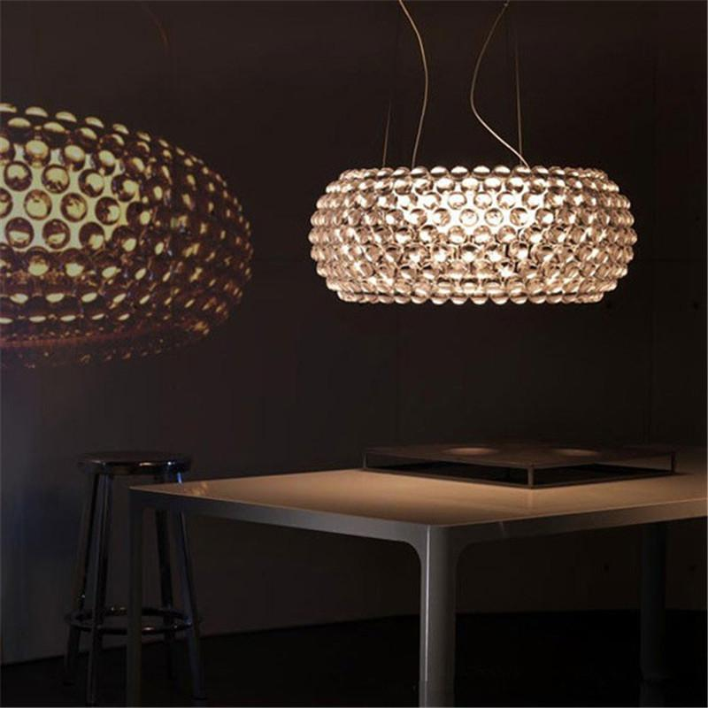 Kristalllampe Foscarini Pendant Light Foscarini Caboche Chandelier Clear