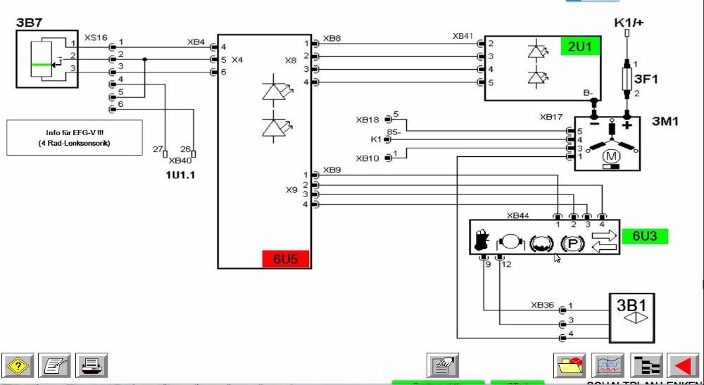 Diesel Electric Jungheinrich Forklift Diagnostic Tool JUDIT 4
