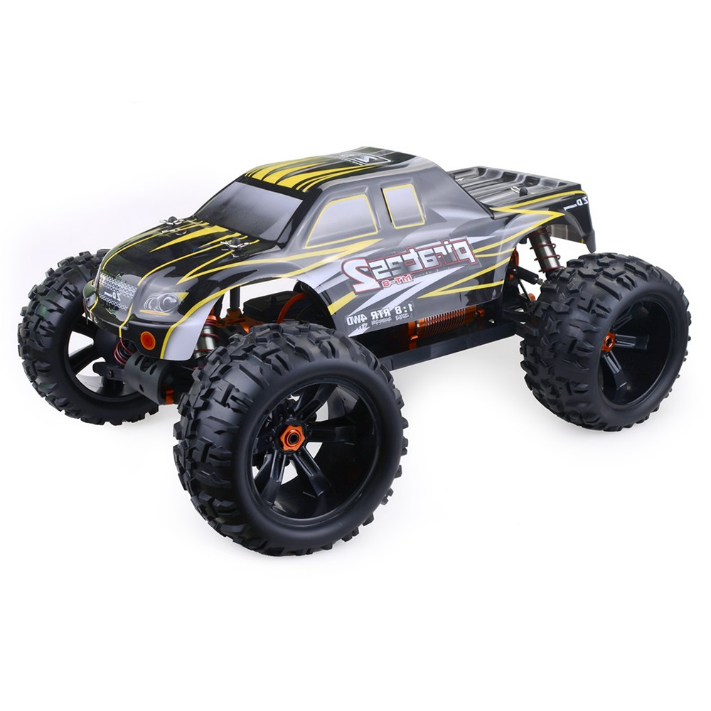 Rtr Rc Trucks Electric Zd Racing 9116 1 8 4wd Rc Car Electric Truck Metal Frame Brushless 100km H Rtr Rc Car Kids Toys 2019 New Gifts