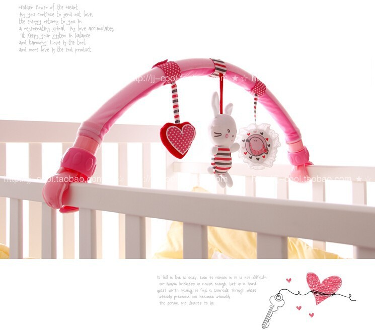 Baby Cradle Hanging Toys 2020 Lovely Baby Cradle Seat Cot Hanging Toys Crib Mobile