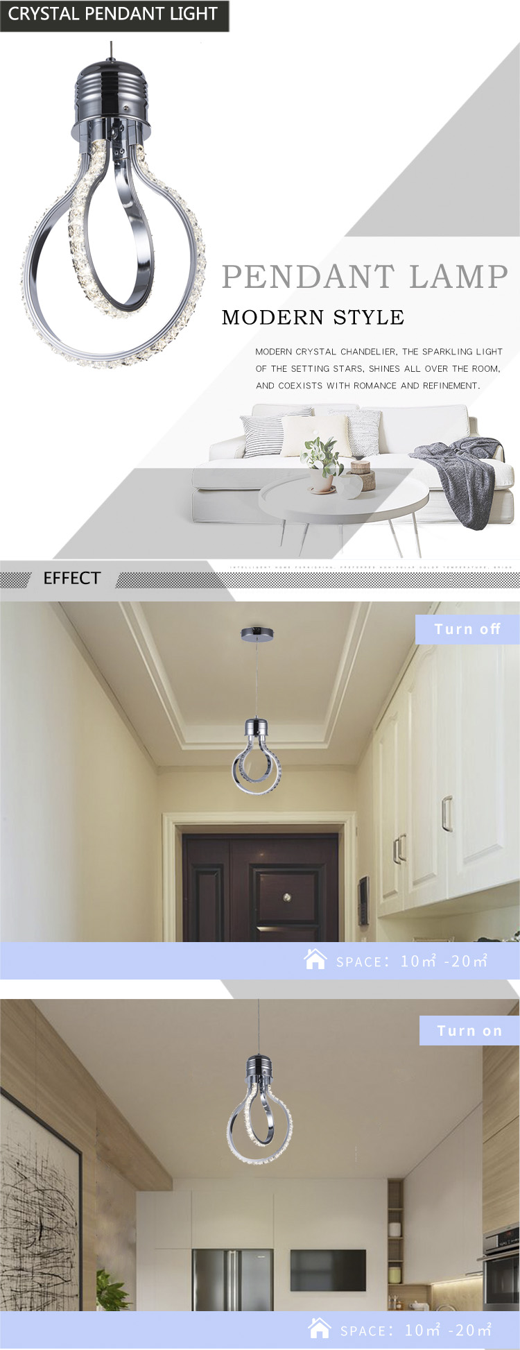 Eclairage Plafond Salon Led Lustre En Cristal Plafond Salon Suspension Lampe Chambre Luminaires Escalier Lumière Nouveauté éclairage Loft Suspendu Lumières