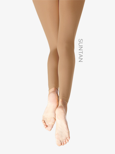 Hold  Stretch Footless Tights - Footless Tights Capezio 140C