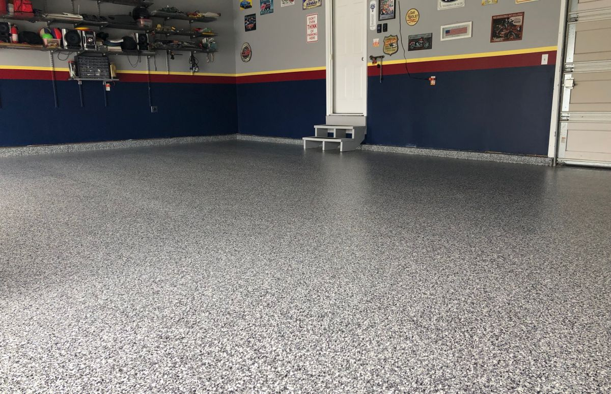 Garage Floor Epoxy Steps Garage Flooring Nebraska Omaha Lincoln Epoxy Floor Coating