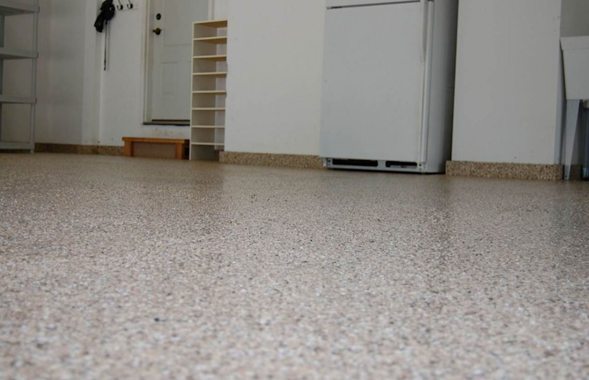 Garage Floor Epoxy Options Granite Garage Floors Kansas City Epoxy Floor Coating Kc