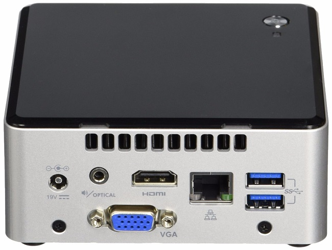 Intel Nuc Pinnacle Canyon Celeron N3050 Dual Core Barebone