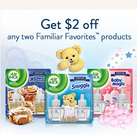 Get $2 off any two Familiar Favorites products