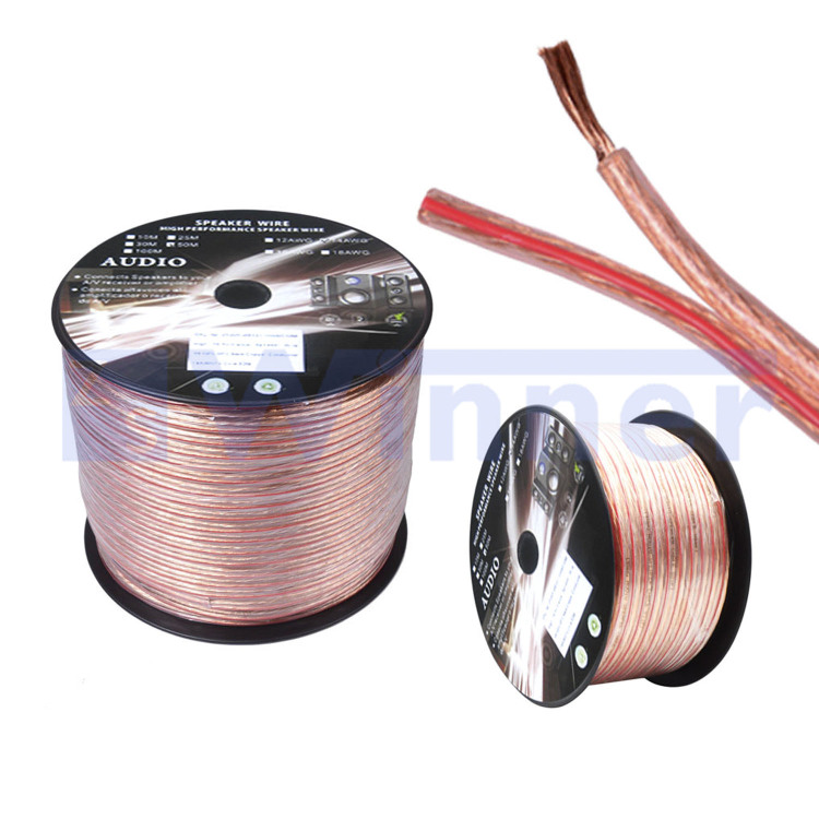 High Quality Transparent PVC Speaker Wire