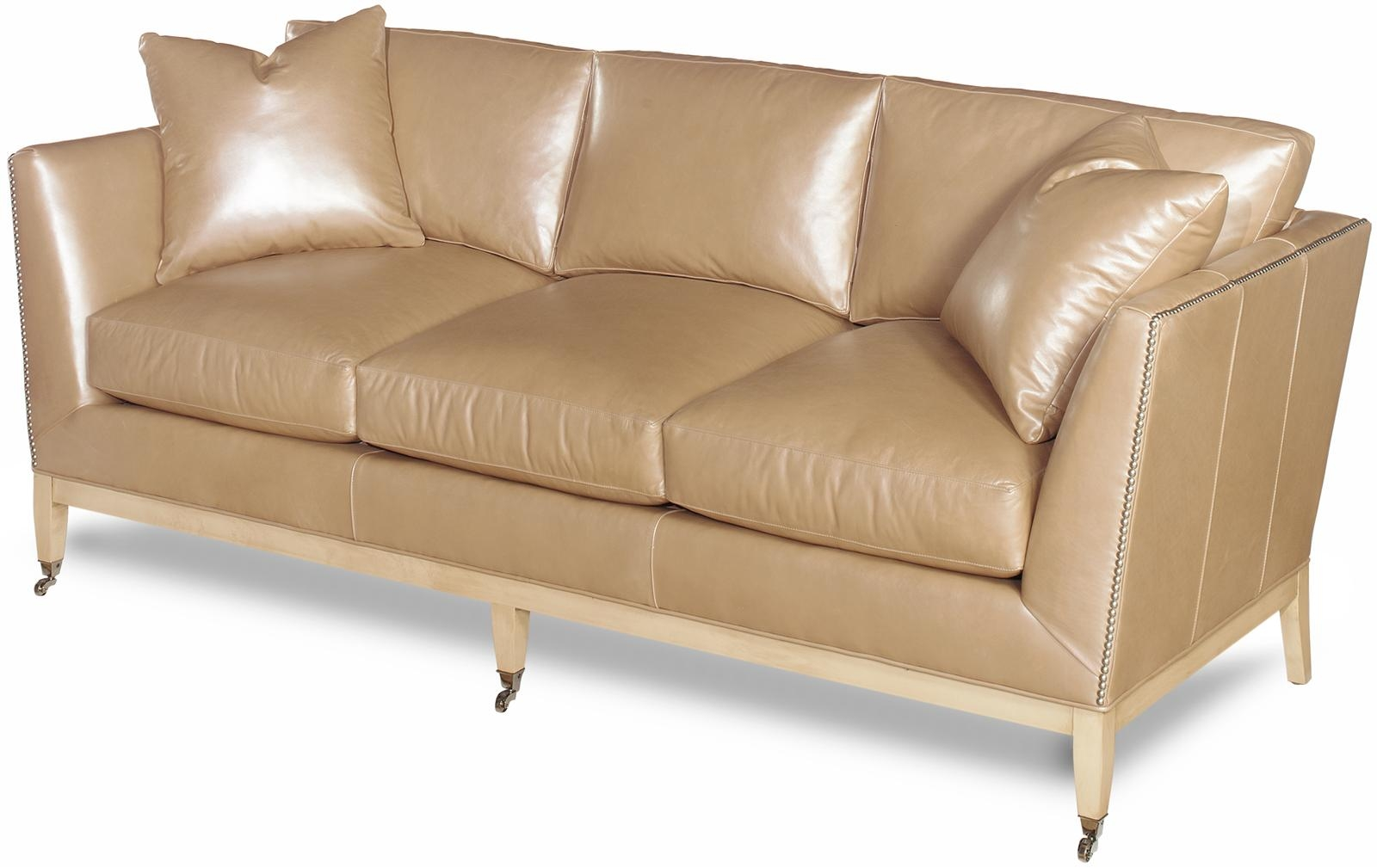 Sleek Leather Couch Sleek New Leather Sofa Hand Crafted Top Grain Leather
