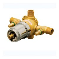 PF1007 Tub & Shower Valve Rough In Valve - Rough Brass at ...