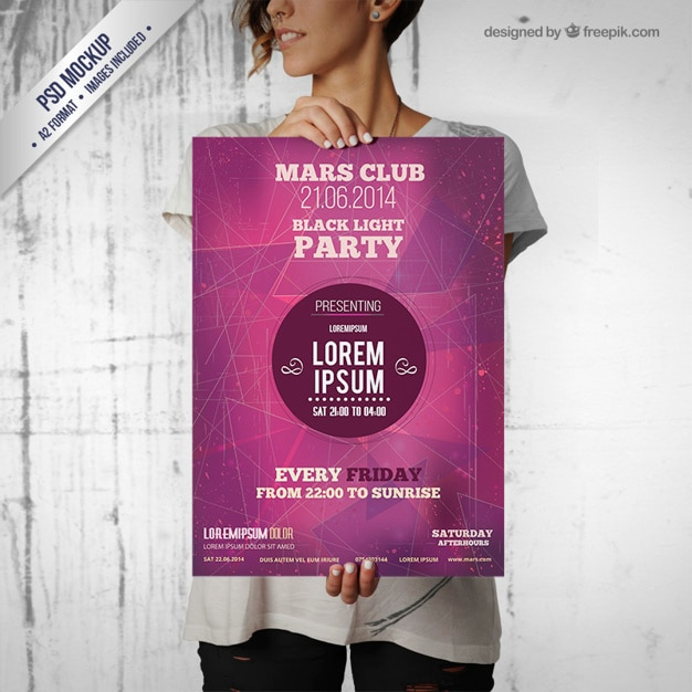 pu003eDownload Newspaper Mockup Free PSD This newspaper mockup will - party flyer